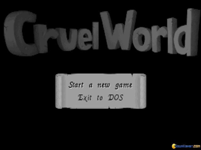 Cruel World - title cover
