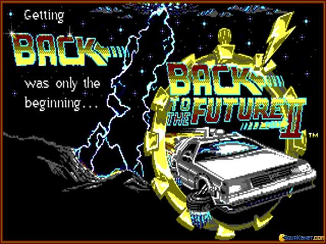 Back to the Future 2 - title cover