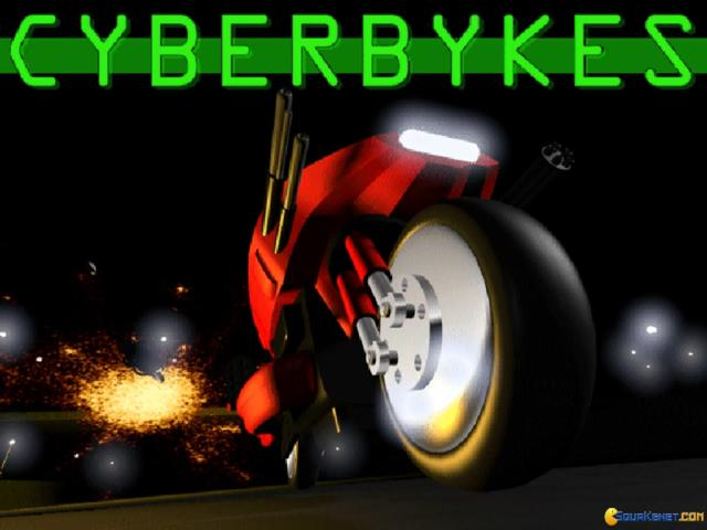 Cyberbykes: Shadow Racer VR - game cover