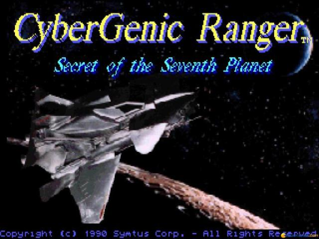 Cybergenic Ranger: Secret of the 7th Planet - title cover