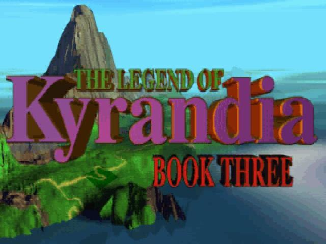 The Legend of Kyrandia: book 3 - title cover