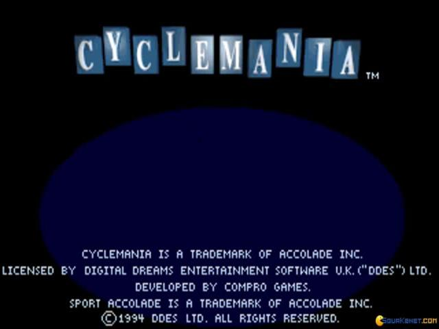 Cyclemania - title cover
