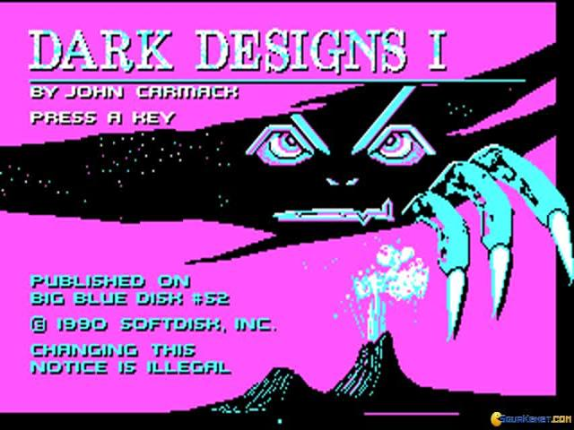 Dark Designs I: Grelminar's Staff - title cover
