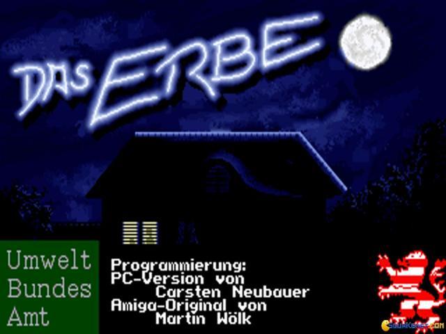 Das Erbe - title cover