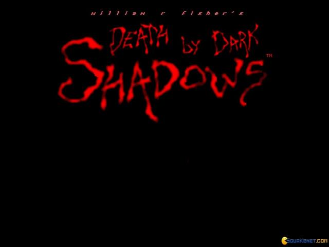 Death by Dark Shadows - title cover