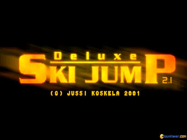 Deluxe Ski Jump - title cover