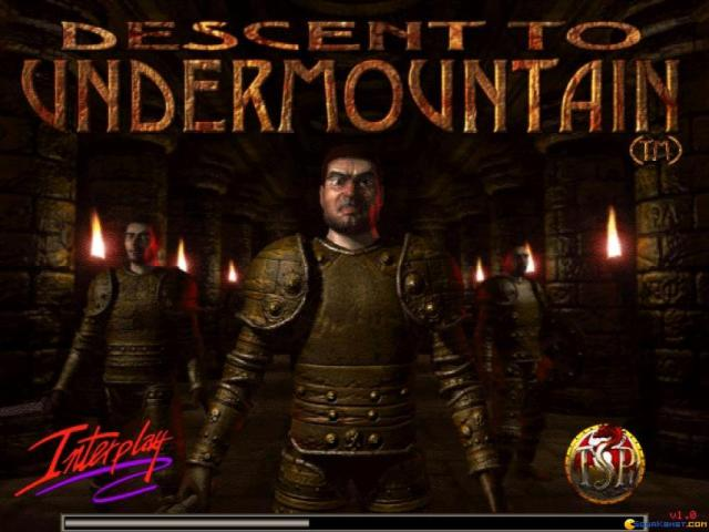 Descent to Undermountain - title cover
