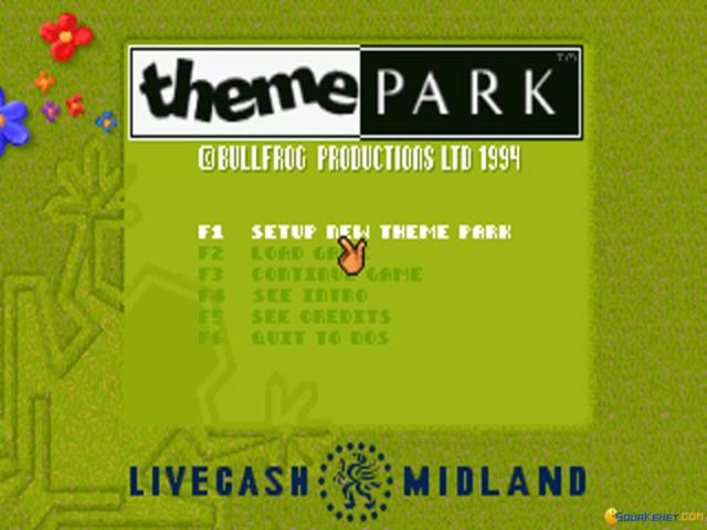Theme Park - title cover