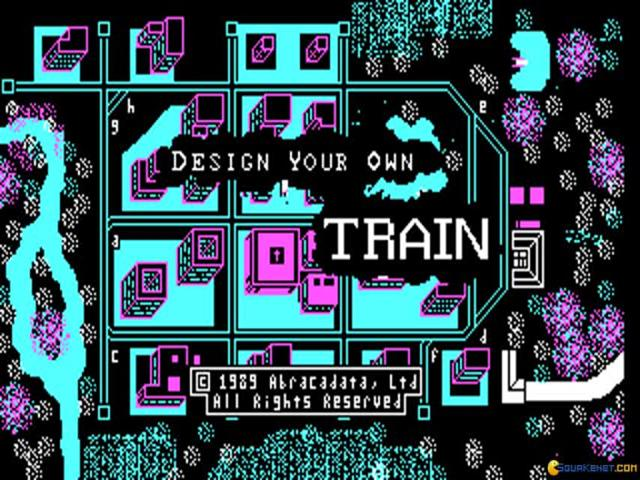 Design Your Own Railroad - game cover