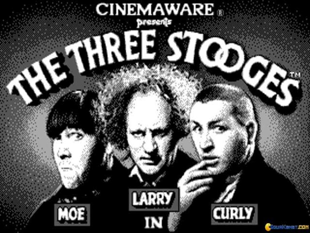 Three Stooges, The - title cover