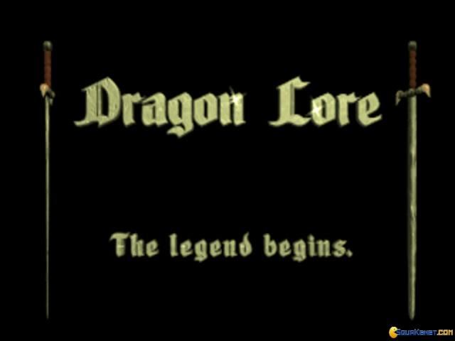 Dragon Lore: The Legend Begins - title cover