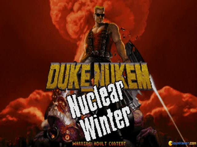 Duke: Nuclear Winter - title cover