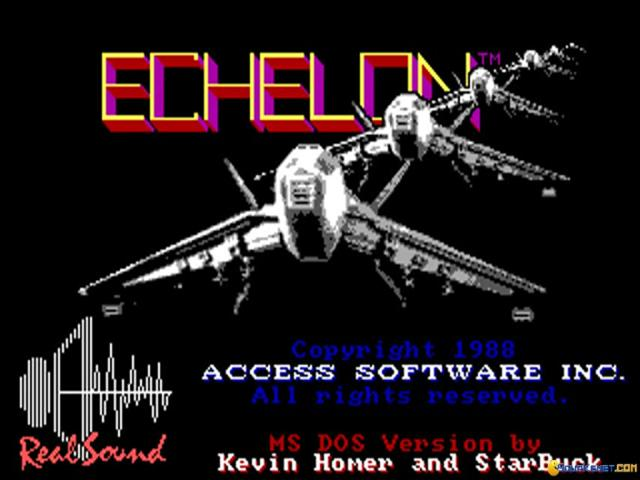 Echelon - game cover