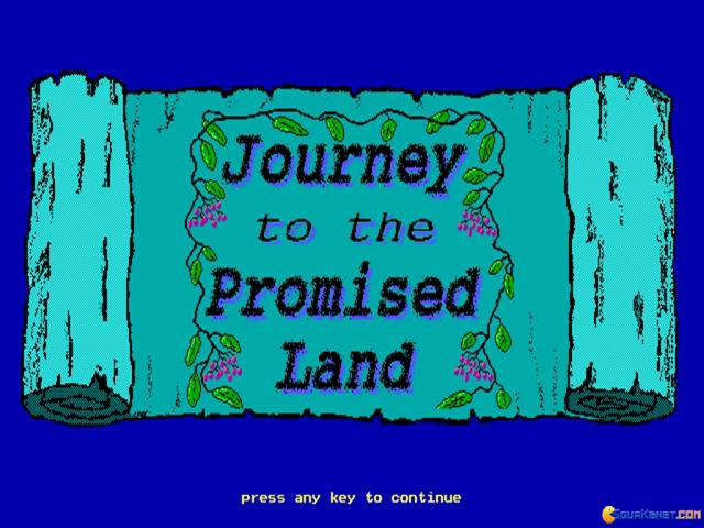 Exodus: Journey to the Promised Land - title cover