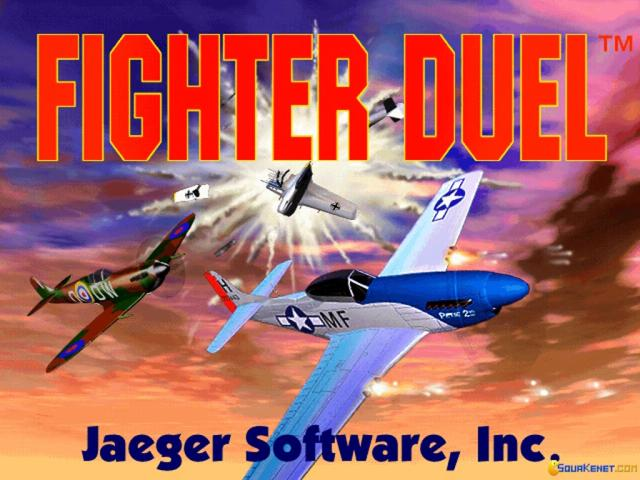 Fighter Duel - game cover
