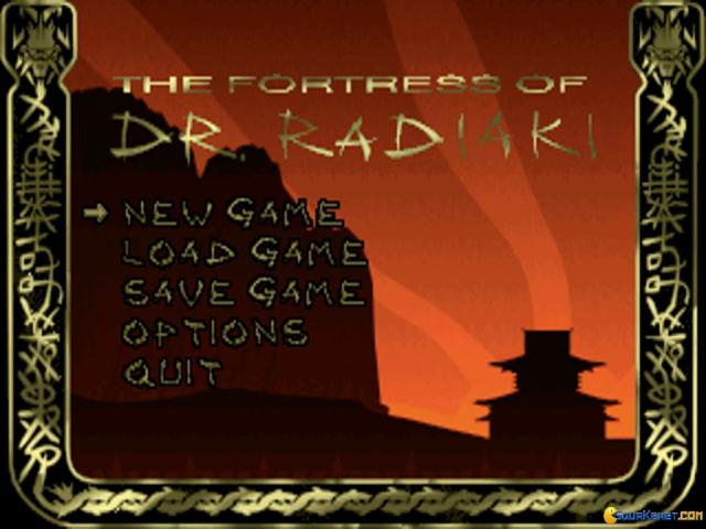 The Fortress of Dr. Radiaki - title cover