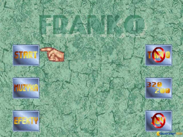 Franko: The Crazy Revenge - title cover