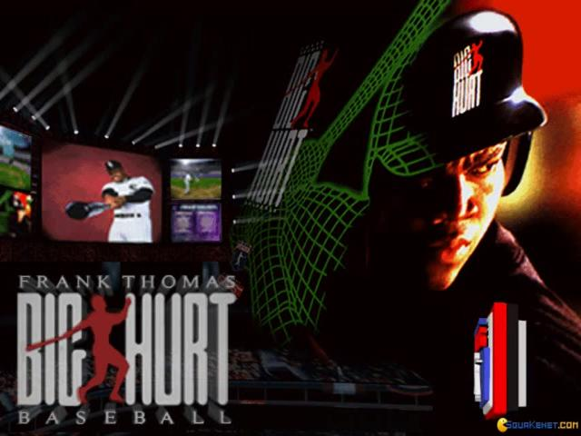 Frank Thomas Big Hurt Baseball - title cover