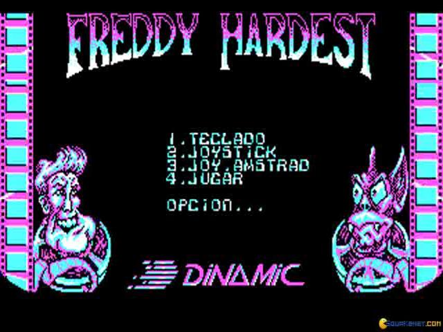 Freddy Hardest - title cover