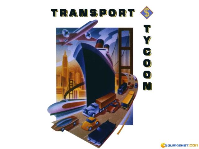 Transport Tycoon - game cover