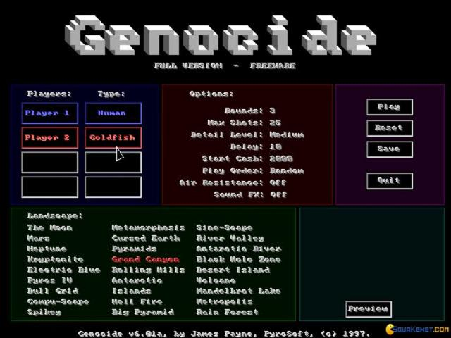 Genocide - title cover