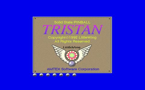 Tristan Pinball - title cover