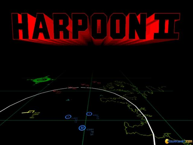 Harpoon II: Admiral's Edition - game cover