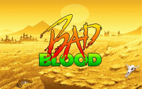 Bad Blood - title cover
