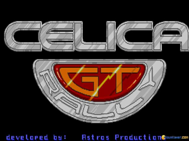 Toyota Celica GT Rally - game cover