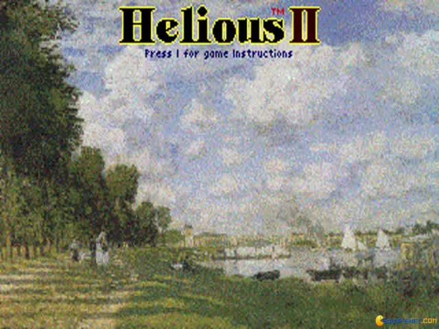 Helious II - title cover