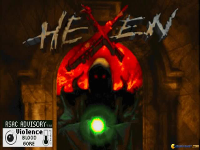 Hexen: Deathkings of the Dark Citadel - title cover