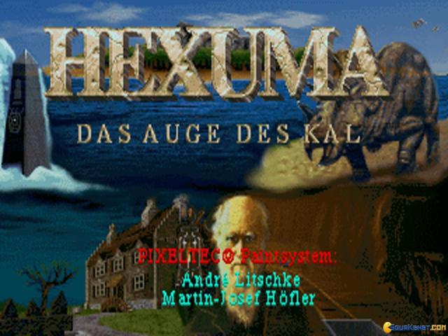 Hexuma: Das Auge des Kal - title cover