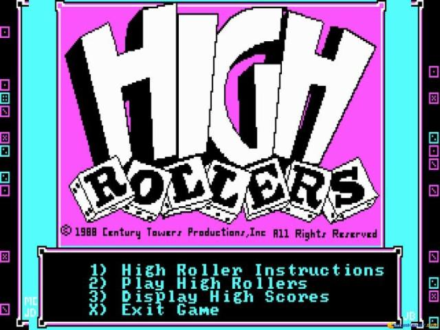 High Rollers - title cover