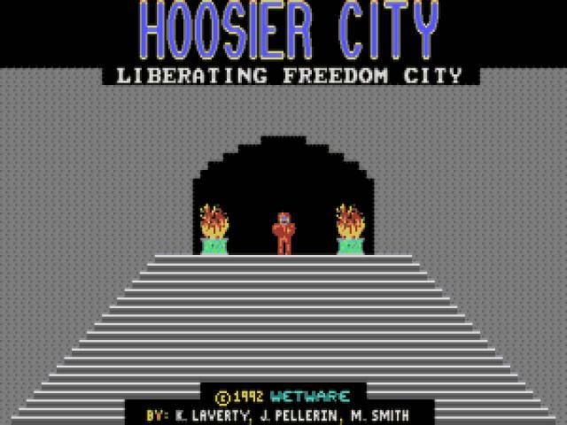 Hoosier City - game cover