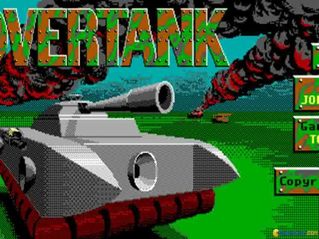 Hovertank 3D - title cover