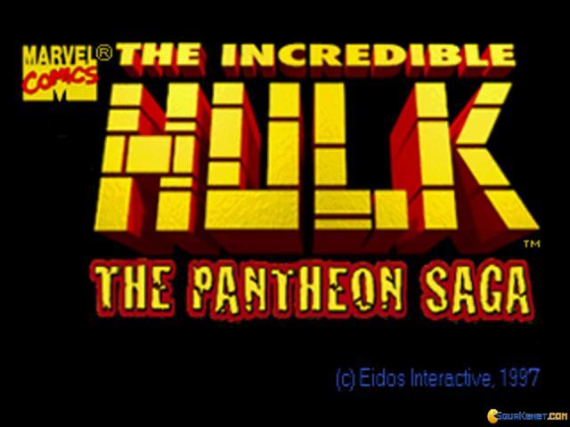The Incredible Hulk: The Pantheon Saga - game cover