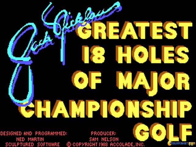 Jack Nicklaus' Greatest 18 Holes of Major Championship Golf - title cover
