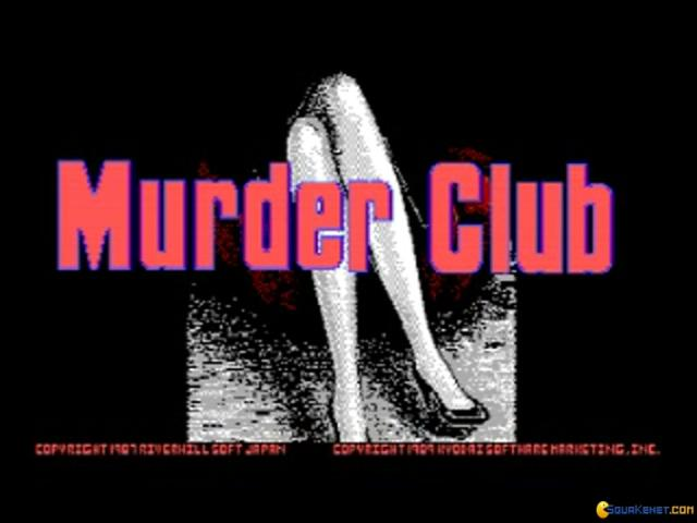 J.B. Harold In: Murder Club - title cover