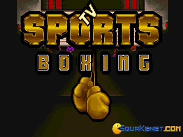 TV Sports: Boxing - title cover