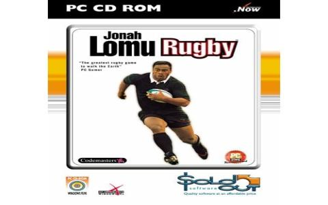 Jonah Lomu Rugby - title cover