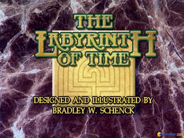 The Labyrinth of Time - title cover