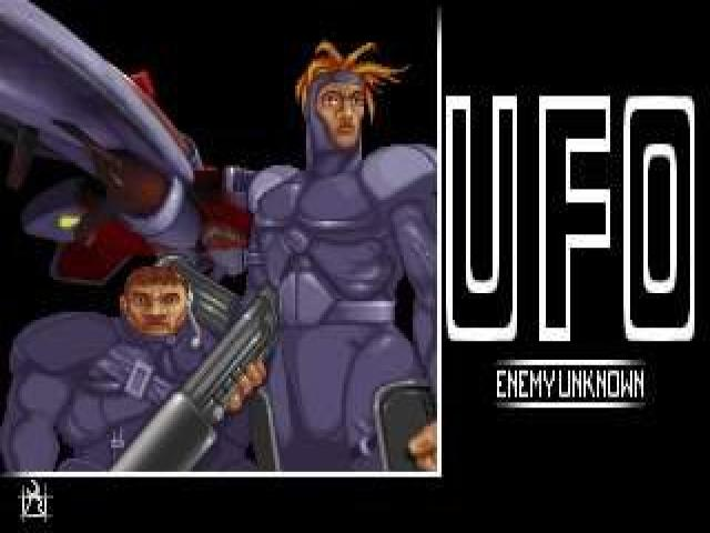 Ufo: Enemy Unknown - title cover