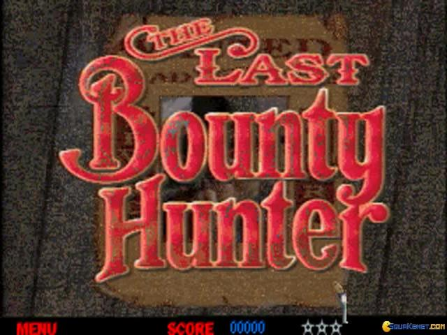 The Last Bounty Hunter - title cover