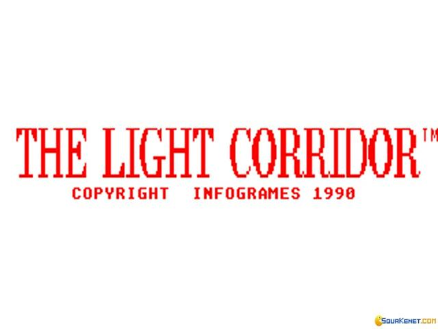 The Light Corridor - title cover