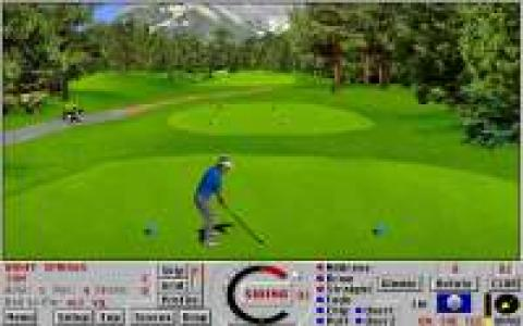 Links: Championship Course: Banff Springs - game cover