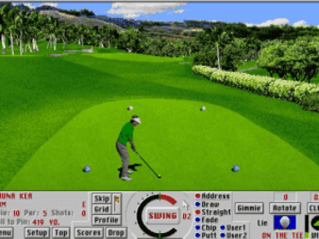 Links: Championship Course: Mauna Kea - game cover