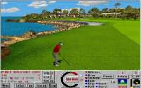 Links: Championship Course: Pebble Beach - game cover