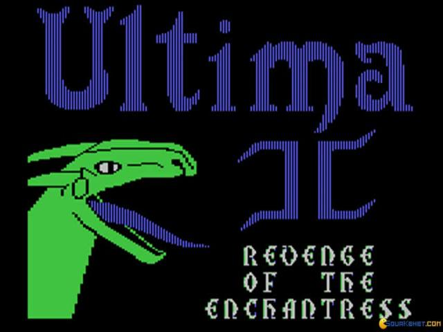 Ultima 2 - title cover