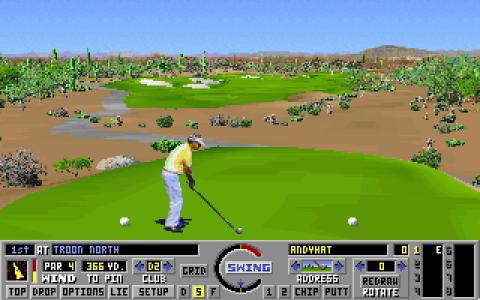 Links: Championship Course: Troon North - game cover