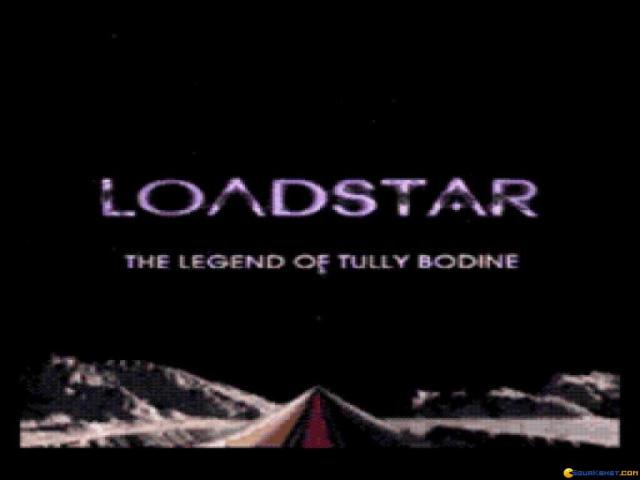 Loadstar: The Legend of Tully Bodine - game cover